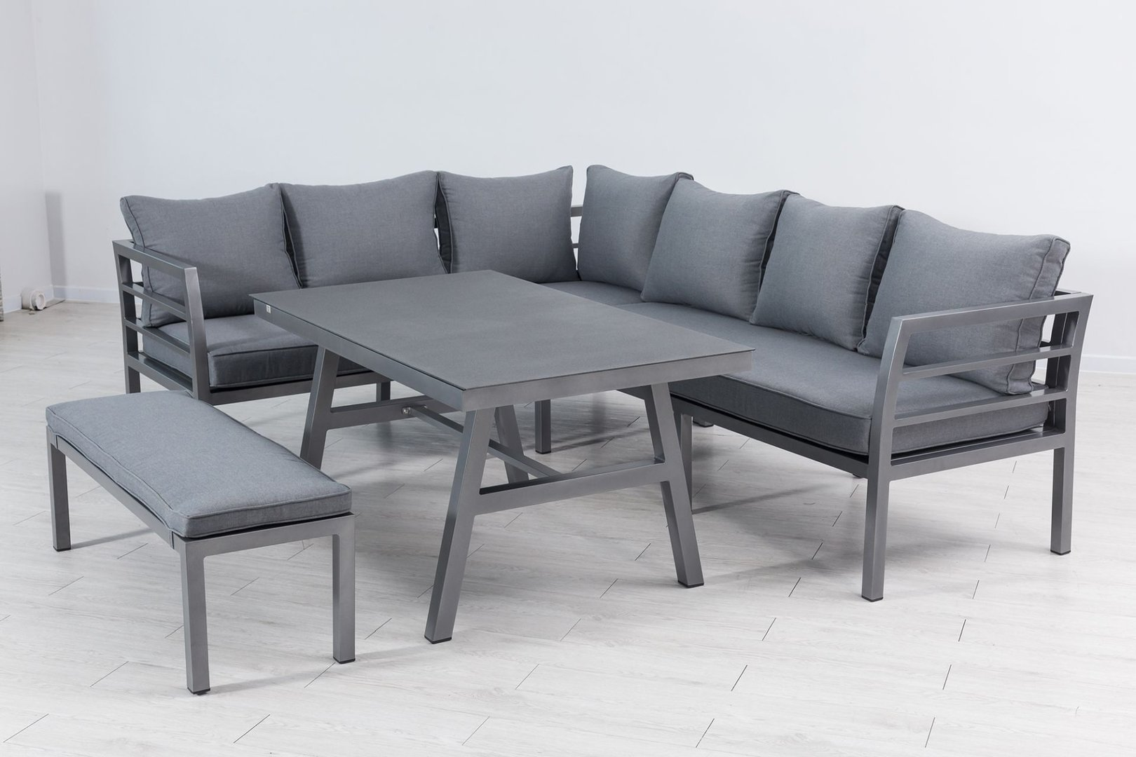 Aluminium Dining Lounge Set Anastasia